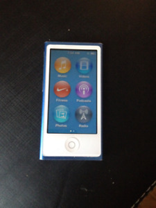 Ipod nano 7th generation 16gb blue