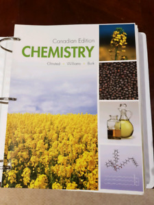 Chemistry Canadian Edition J. Olmsted