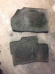 All weather Mazda 6 driver and passenger floors mats