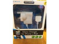 Mains charger for iPhone