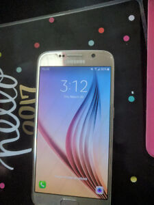 Gold Samsung S6 32GB & 2 cases + Samsung Fit 2 Cond 9.8/10