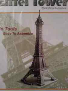 New Sealed Eiffel Tower 3D Puzzle Kitchener / Waterloo Kitchener Area image 1