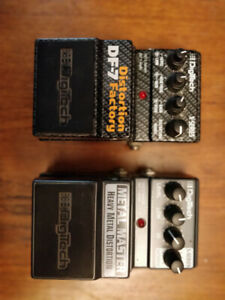 DigiTech Guitar Pedals (DF-7 and Metal Master)