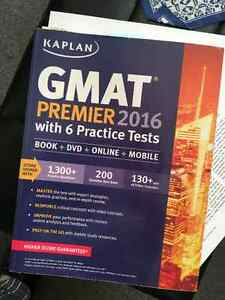 GMAT Premier 2016 with 6 Practice Tests (Kaplan)
