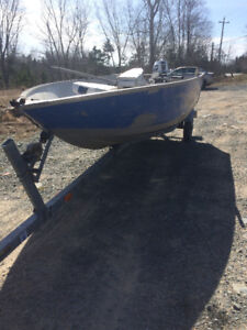 Princecraft Aluminum Boat Motor and Trailer