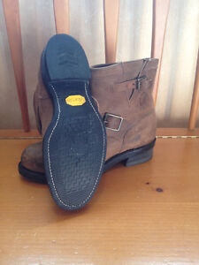 "Men's Chippewa 7"" Bay Crazy Horse Engineer Boots - Size 9.5 Peterborough Peterborough Area image 2"