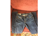 Abercrombie and fitch men's jeans