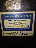 Antique album / radio phonograph