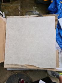 9m2 mandarin stone grey ceramic stone effect floor tiles