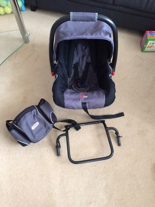 Phil and Teds Bebe car seat, adapter and bumbag | in Portsmouth ...