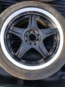 4 rims with 215/45/17's