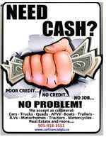 NEED QUICK CASH/ A LOAN!!! Get it NOW from your Vehicle!