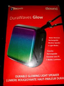 Bluetooth speaker iSound DuraWaves Glow Speaker