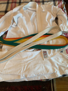 Youth Karate Gi and Belts