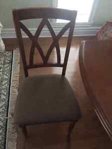 Table salle a manger avec 6 chaise/ Dining tableset with 6 chair West Island Greater Montréal image 8