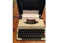 Vintage Imperial portable typewriter