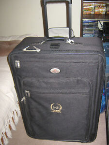 "Large""Air Canada"" Suitcase-Used Once-Comes with Free Travel Iron"