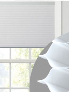 White Single  Cell WIndow Blinds