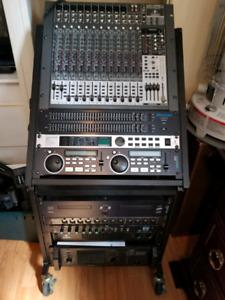 Console mixage de son