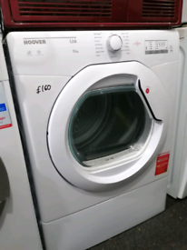 ➡️➡️SALE⬅️⬅️ WHITE 10KG HOOVER LINK VENTED TUMBLE DRYER