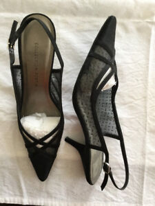 HEELS - Black Evening(9), B&W Fabric(9.5), Brown Platform(9.5)