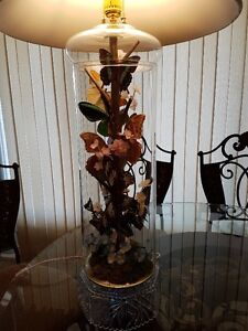 REAL BUTTERFLY TRI-LIGHT LAMP WITH NIGHT LIGHT/Price Drop Cambridge Kitchener Area image 4