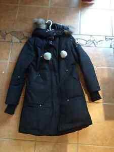 real MK long winter coat - manteau d'hiver long MK