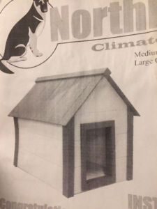 High-End Insulated Dog House - Medium Size