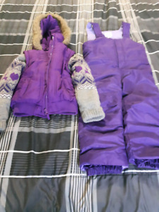 Girls 4/4T Snow Suit