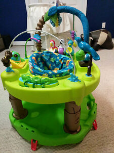 Evenflo exersaucer - triple fun - life in the amazon