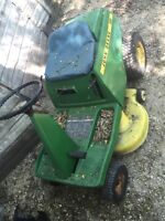 PROJECT RIDING MOWER