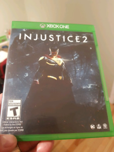 INJUSTICE 2 game for XBOX ONE