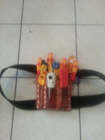 ELECTRICIAN/TELEPHONE/SECURITY MAN TOOL SET IN GOOD CONDITION!