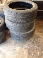 Low pros 30-40% tread left 60$ or best offer