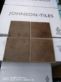 Wall tile 10x10cm brown