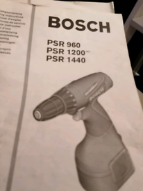 BOSCH PRS electric drill