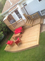 Premium Quality Decks and Fences built by a professional