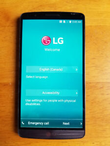 LG G3 phone in a brand new condition