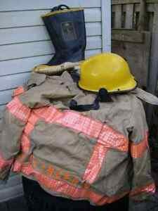 AUTHENTIC FIREMAN'S SUIT, GREAT FOR HALLOWEEN ETC.