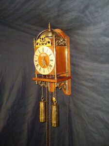Rare WUBA Warmink Dutch Lantern Clock