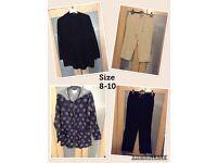 Ladies clothes size 8-10
