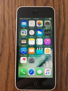 Mint condition Unlocked IPhone 5c