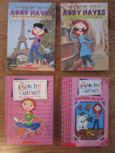 The Amazing Days of Abby Hayes Chapter Books