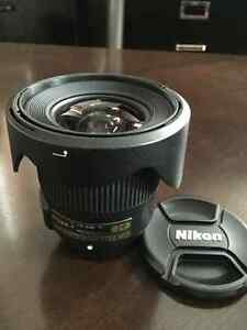 Mint condition nikon 20mm f1.8g
