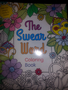 The swear word colouring book