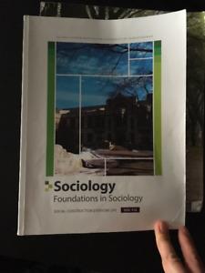 Sociology: Foundation in Sociology - Soc 112 - Bruce Ravelli
