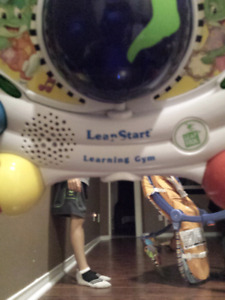Leap frog learning gym