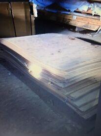Hardboard sheets 8' x 4' CHEAP!