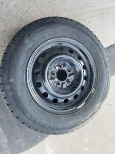 Snow tire $500.