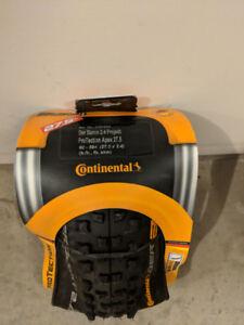 Continental Der Baron 2.4 Projekt Apex Tires 27.5 x 2.4